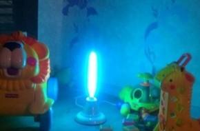 Как пользоваться бактерицидной лампой дома?