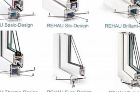 Пластиковые окна Рехау: выбор стеклопакетов и профиля для остекления