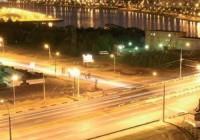 Монтаж светодиодных фонарей для уличного освещения