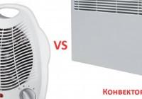 Что лучше: конвектор или тепловентилятор?