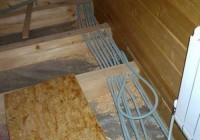 Монтаж проводки в доме из бруса