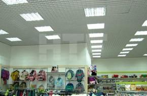 Светодиодное освещение магазинов и его особенности