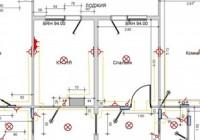 Правила электромонтажа освещения в квартире