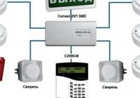 Виды систем пожарных охранных сигнализаций и их устройство