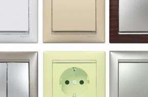 Как выбрать цвет розеток и выключателей