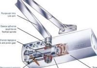 Как установить электрический доводчик стальной двери?