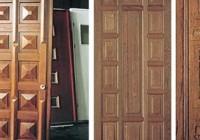 Характеристики деревянных дверей