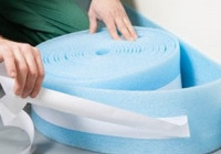Демпферная лента для стяжки пола — что это, для чего нужна и монтаж
