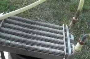 Чем промыть теплообменник газового котла?