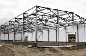 Как строят быстровозводимые здания из металлоконструкций