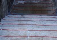 Как сделать электрообогрев ступеней лестницы на крыльце в доме