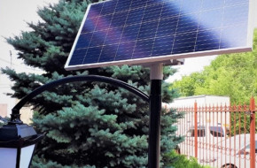 Автономные парковые фонари: преимущества их установки
