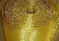Сетки из латуни: характеристики и применение
