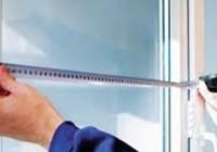 Как замерить москитную сетку на пластиковое окно?
