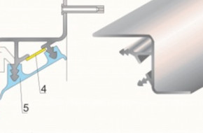Монтаж парящего профиля для натяжного потолка и как его стыковать