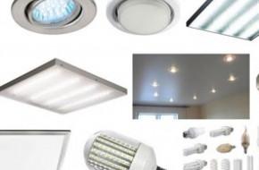 Какие есть виды светодиодных светильников по предназначению