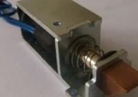 Монтаж электрического кодового замка на стальную дверь