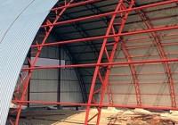 Технология строительства арочных ангаров из металлоконструкций