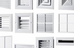 Виды вентиляционных решеток и как часто следует их очищать