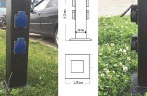 Как установить уличную розетку