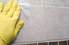 Чем отмыть керамическую плитку?