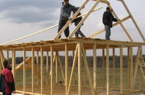 Как построить каркасную баню самому