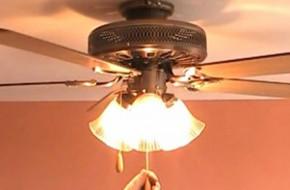 Люстры-вентиляторы — что это и как подключить