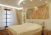 Как выбрать натяжной потолок в спальню