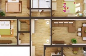 Виды планировок 4-комнатных квартир и какую выбрать