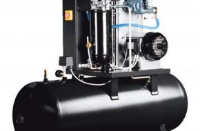 Как работает винтовой компрессор