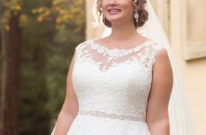 Как подобрать образ и свадебное платье полной невесте