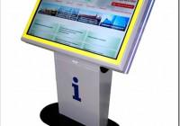 Напольные сенсорные информационные киоски — виды и для чего используются