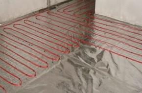 Кабельный теплый пол под плитку: материалы и последовательность монтажа