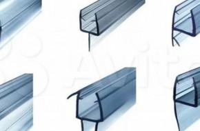 Уплотнители для душевых кабин — виды и монтаж