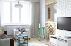 Варианты дизайна интерьера однокомнатной квартиры