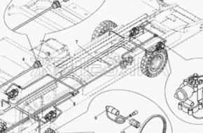 Тормозная система АБС у грузовиков — что это и как устроена