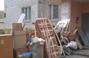 Как вывезти старую мебель из квартиры?