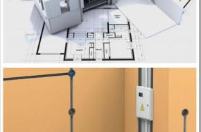Как делается электромонтаж в квартире-студии?