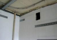 Проводка под натяжным потолком